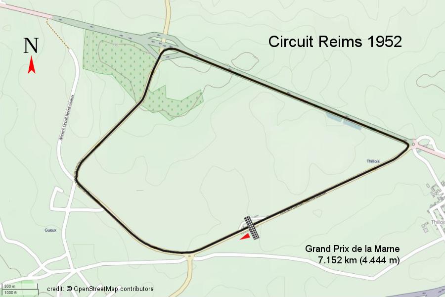 Circuit Reims 1952