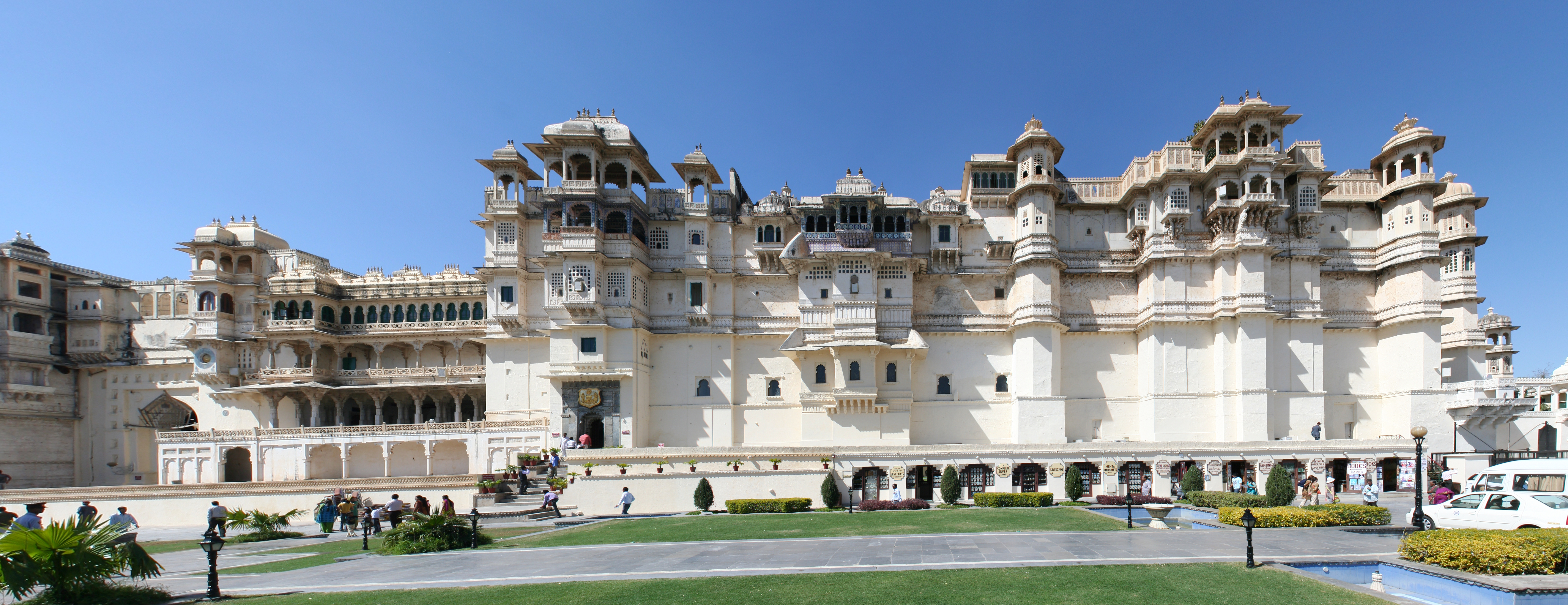 City Palace Udaipur Front