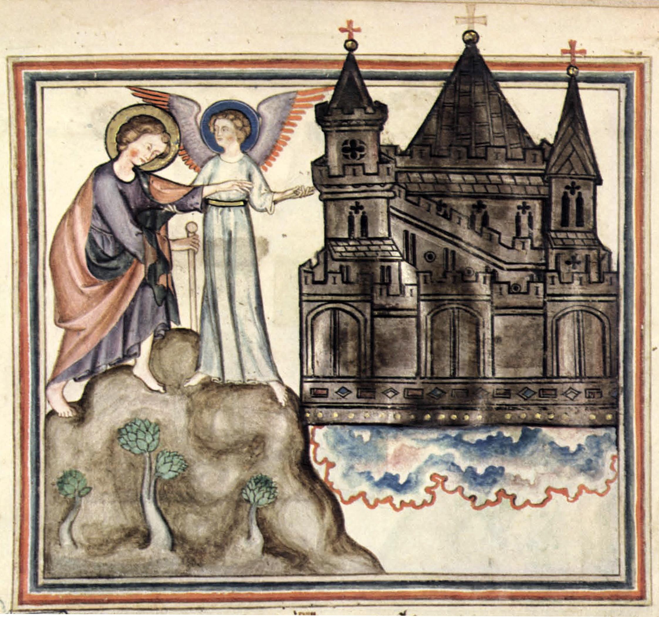 File:Cloisters Apocalypse - New Jerusalem and angel.jpg - Wikimedia Commons