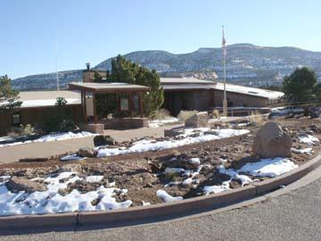 Colorado national monument visitor center complex wikipedia for Bookcliff gardens grand junction colorado