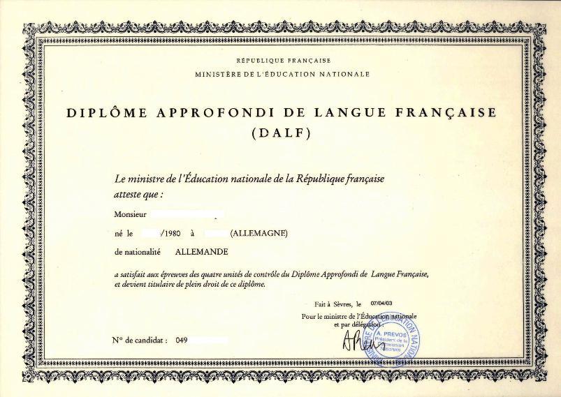 dipl u00f4me d u0026 39  u00e9tudes en langue fran u00e7aise