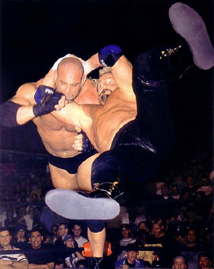 Page performs the Diamond Cutter on Goldberg