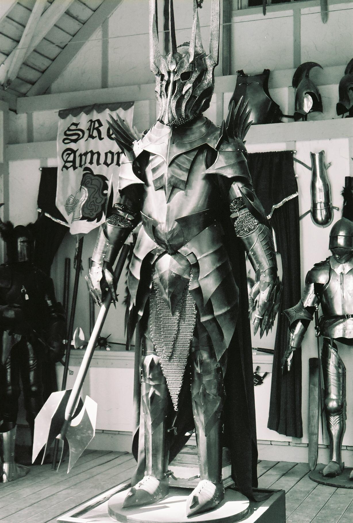 Depiction of Sauron