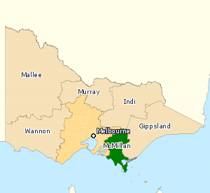 Division of McMillan Australian federal electoral division