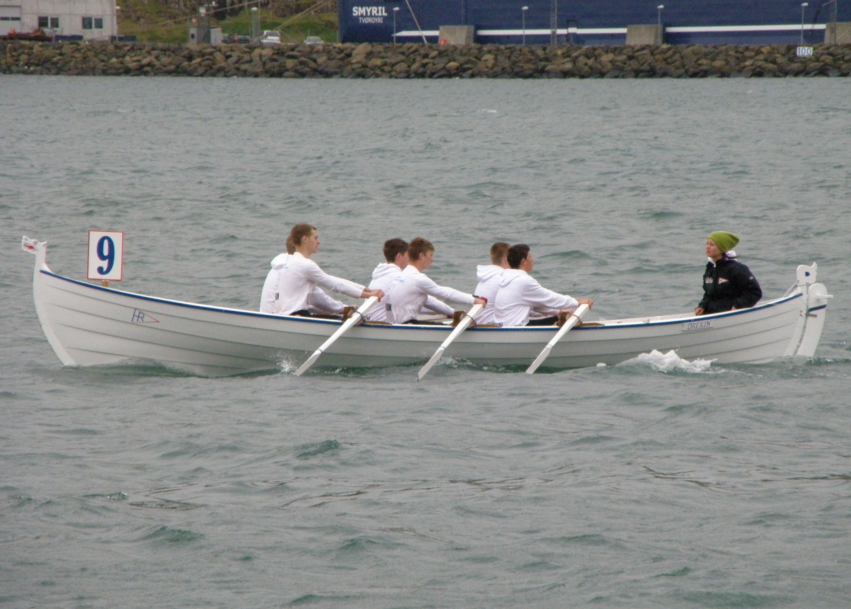 Row+Boat File:Drekin a Faroese Row Boat.jpg - Wikipedia, the free ...