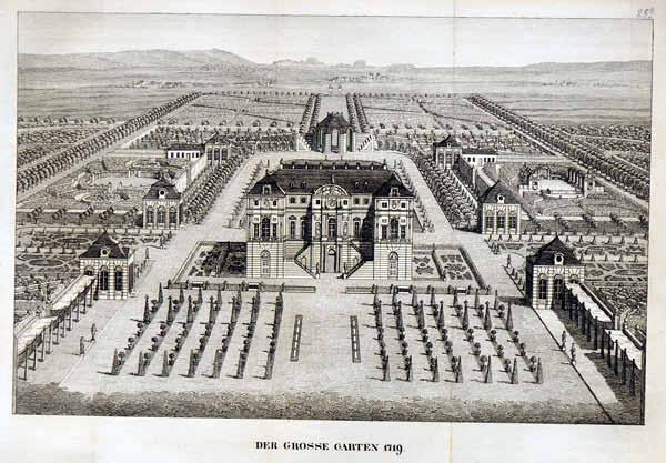 Dresden palais 1719