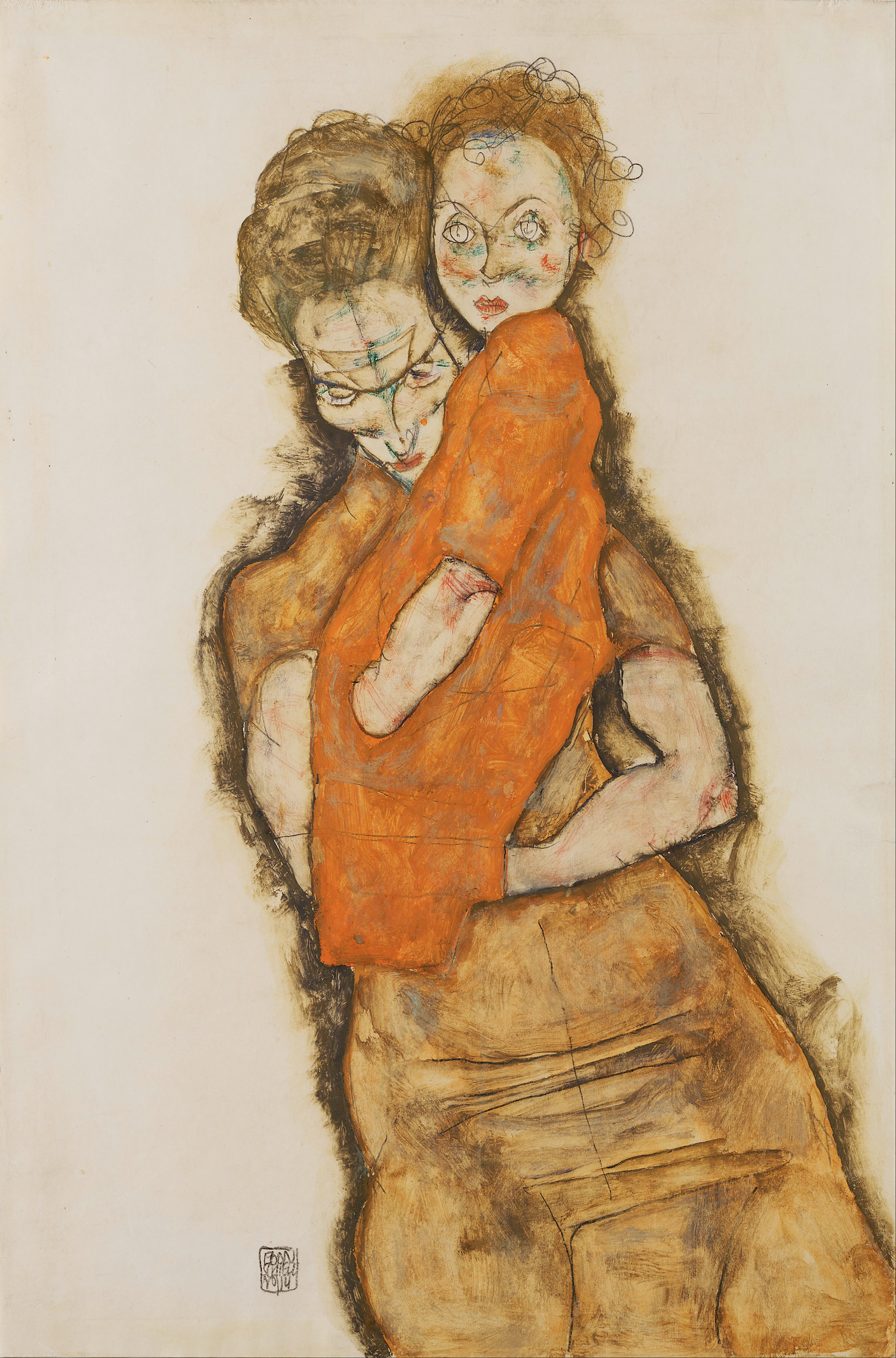 File:Egon Schiele - Mother and Child - Google Art Project.jpg ...