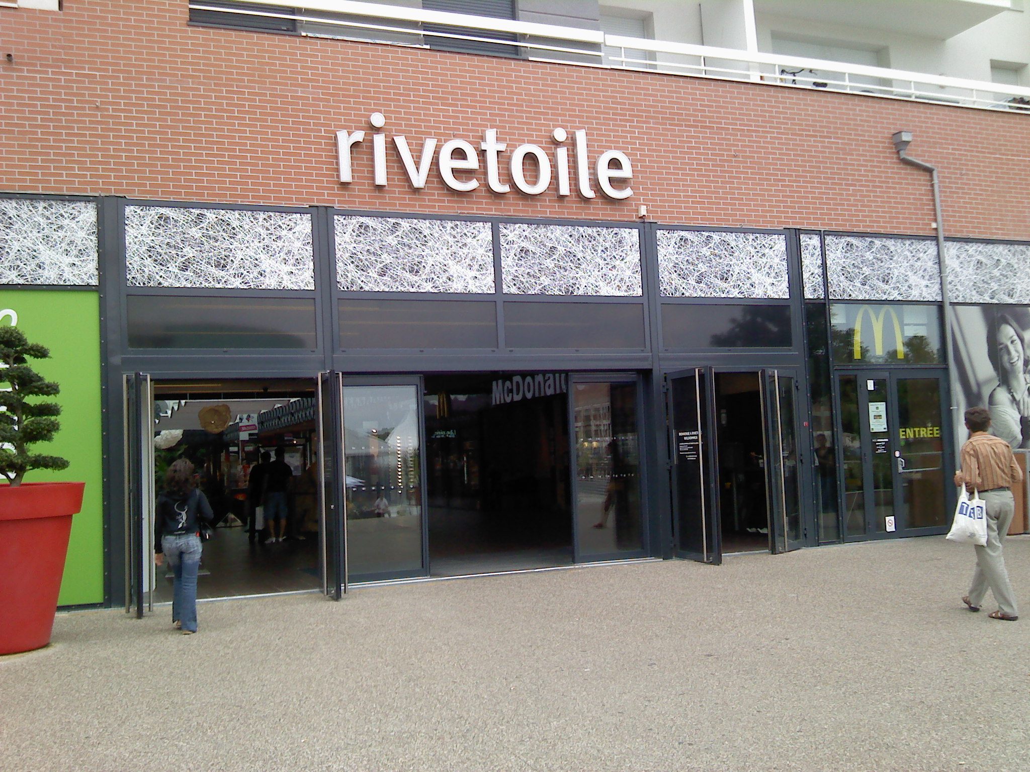 File entr e du centre commercial riv toile wikimedia commons - Centre commercial rivetoile strasbourg ...