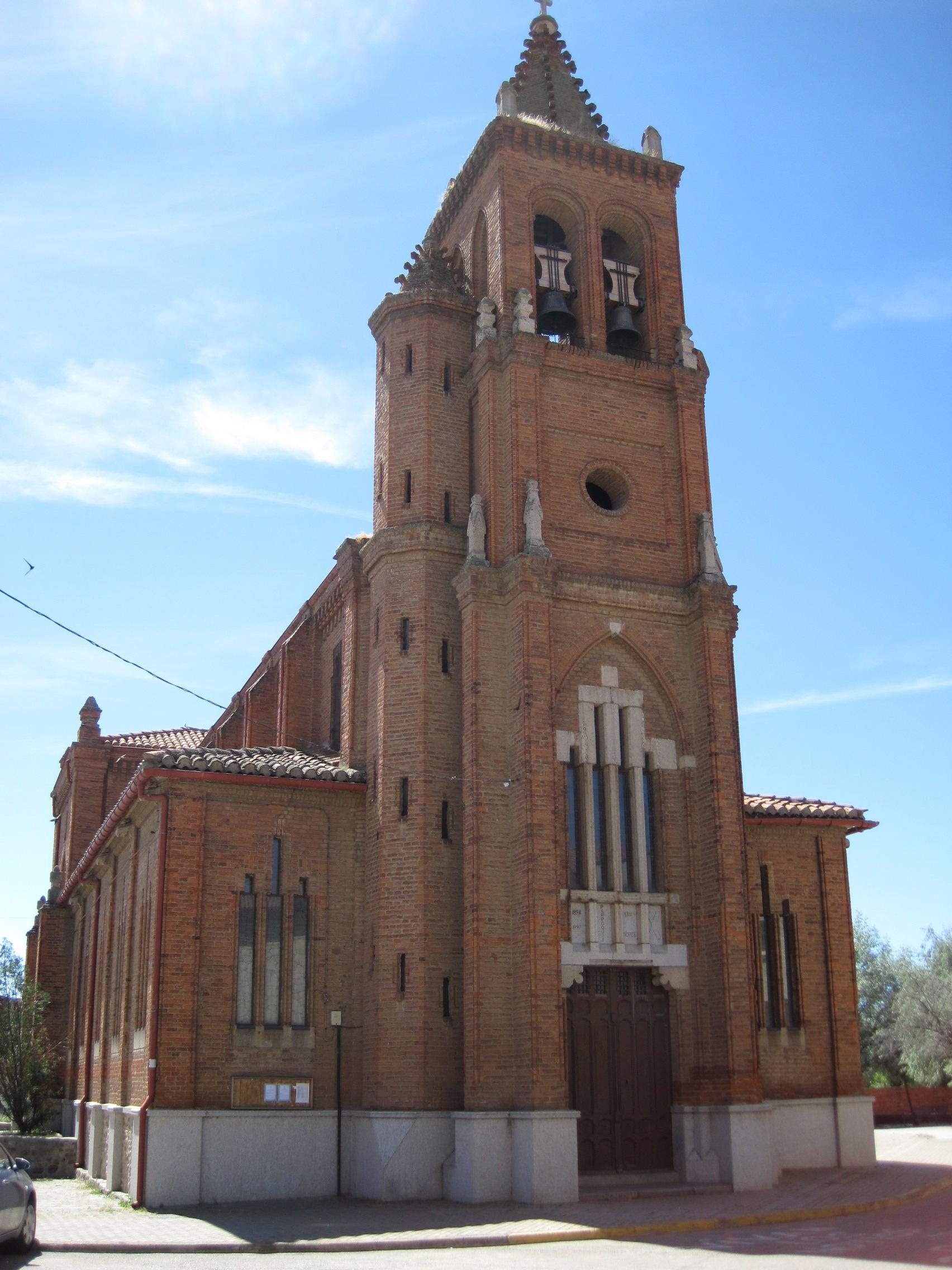 File:Fachada iglesia de San Andrés, Astorga.jpg ...