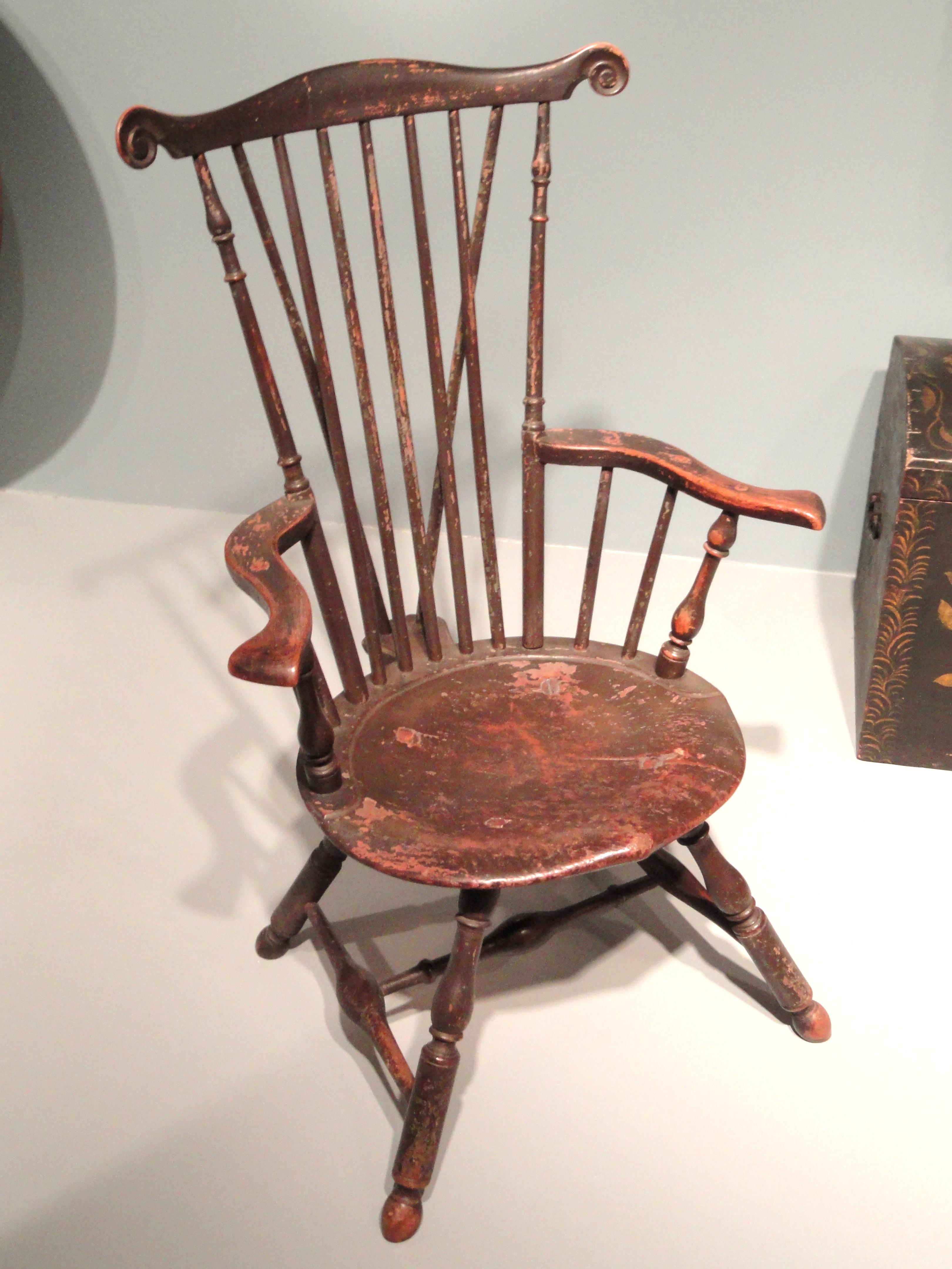 FileFan-Backed Windsor Chair 1760-1770 Philadelphia tulip & File:Fan-Backed Windsor Chair 1760-1770 Philadelphia tulip maple ...