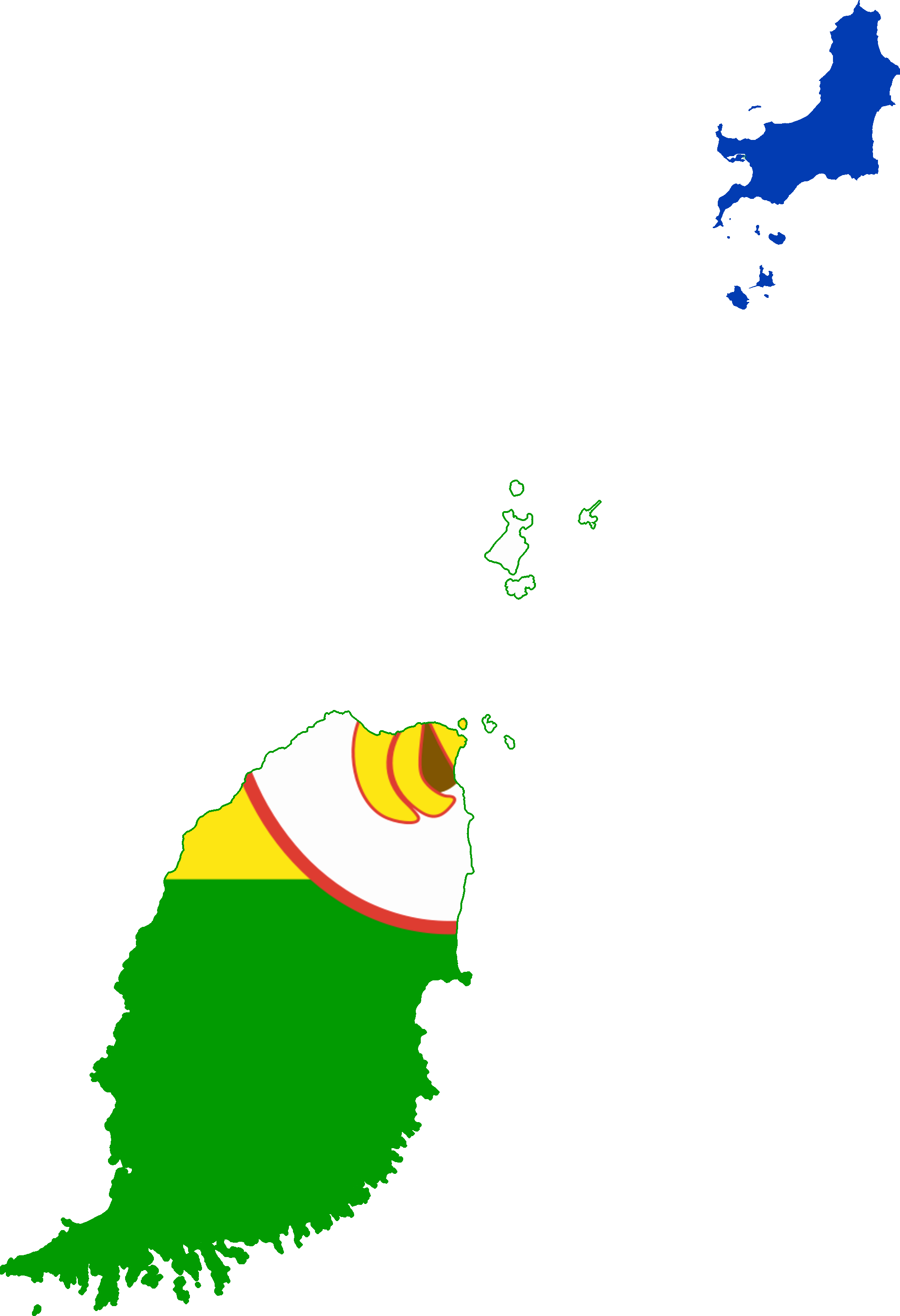 File Flag Map Of Grenada 1967 Png Wikimedia Commons