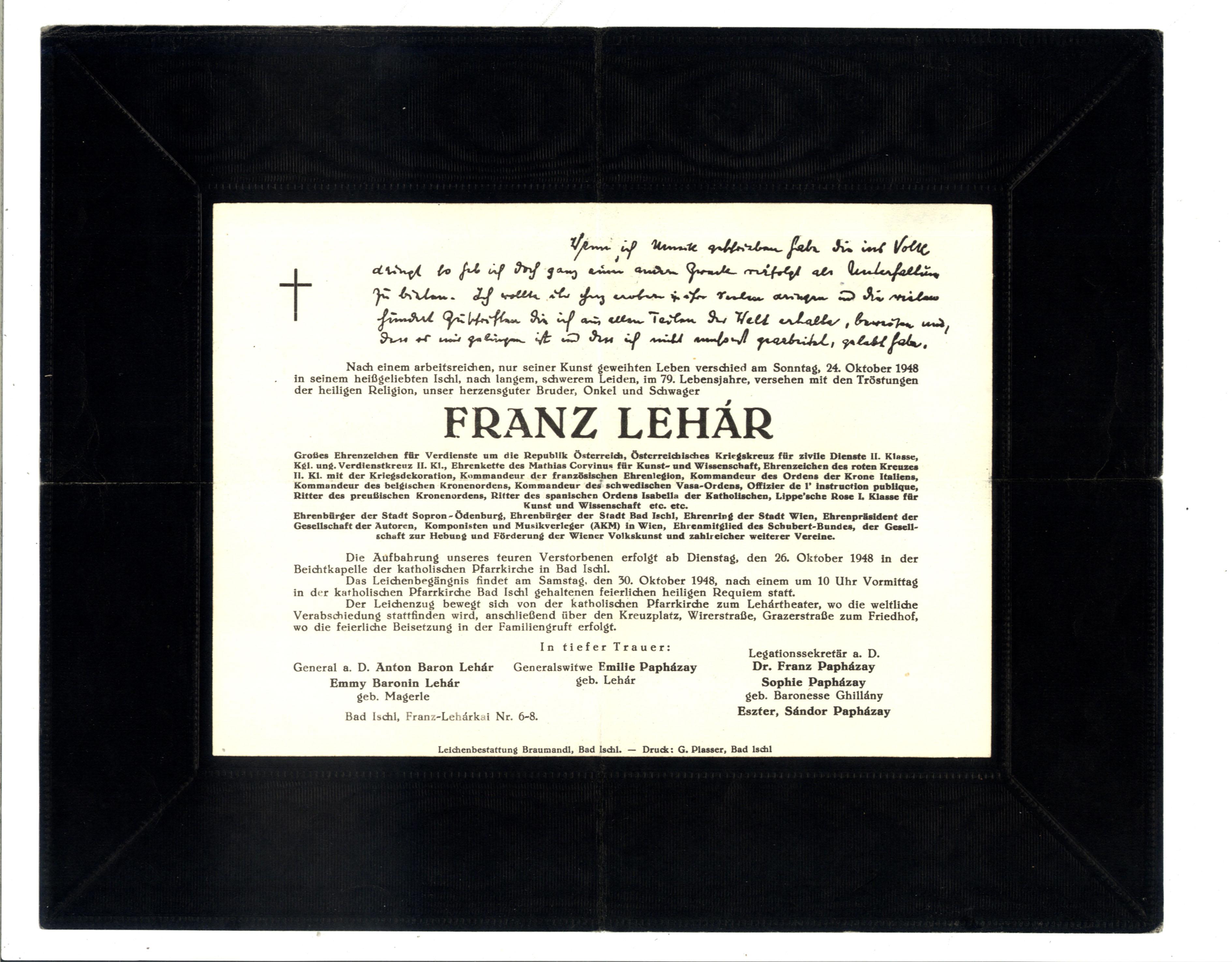 Franz Lehár –