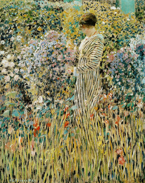 Frederick Carl Frieseke [Public domain], via Wikimedia Commons