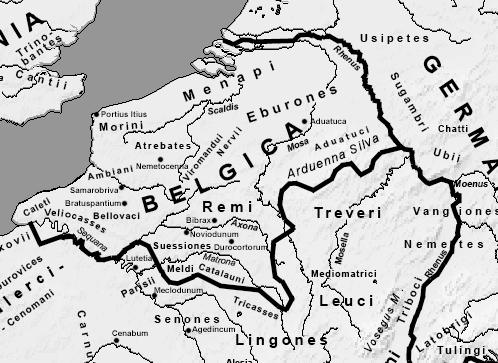 Carte Belgique Histoire.Liste Des Peuples De La Gaule Belgique Wikipedia