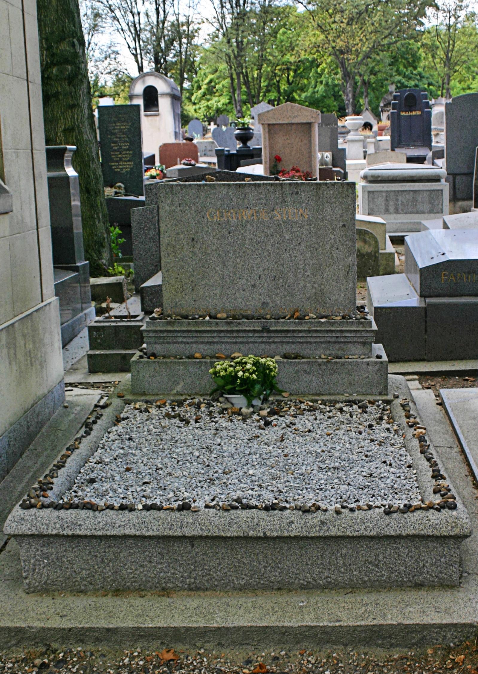 Grab von Gertrude Stein