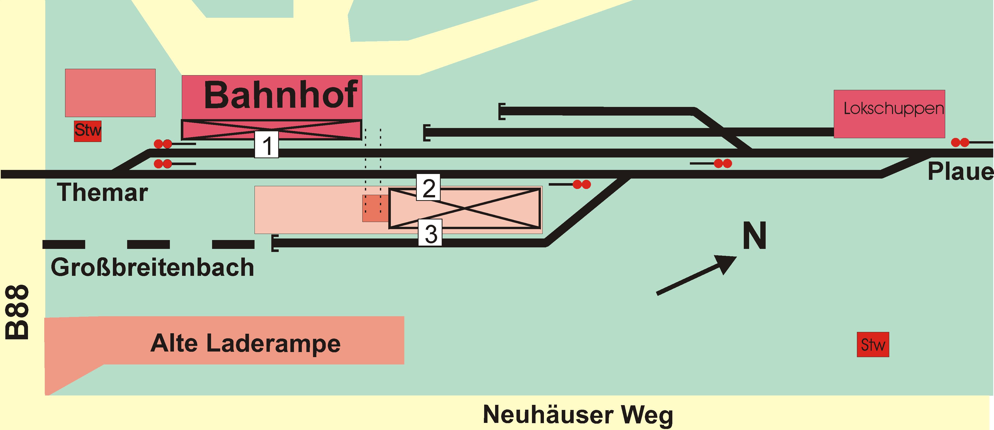 File Gleisplan Bahnhof Ilmenau Png Wikimedia Commons