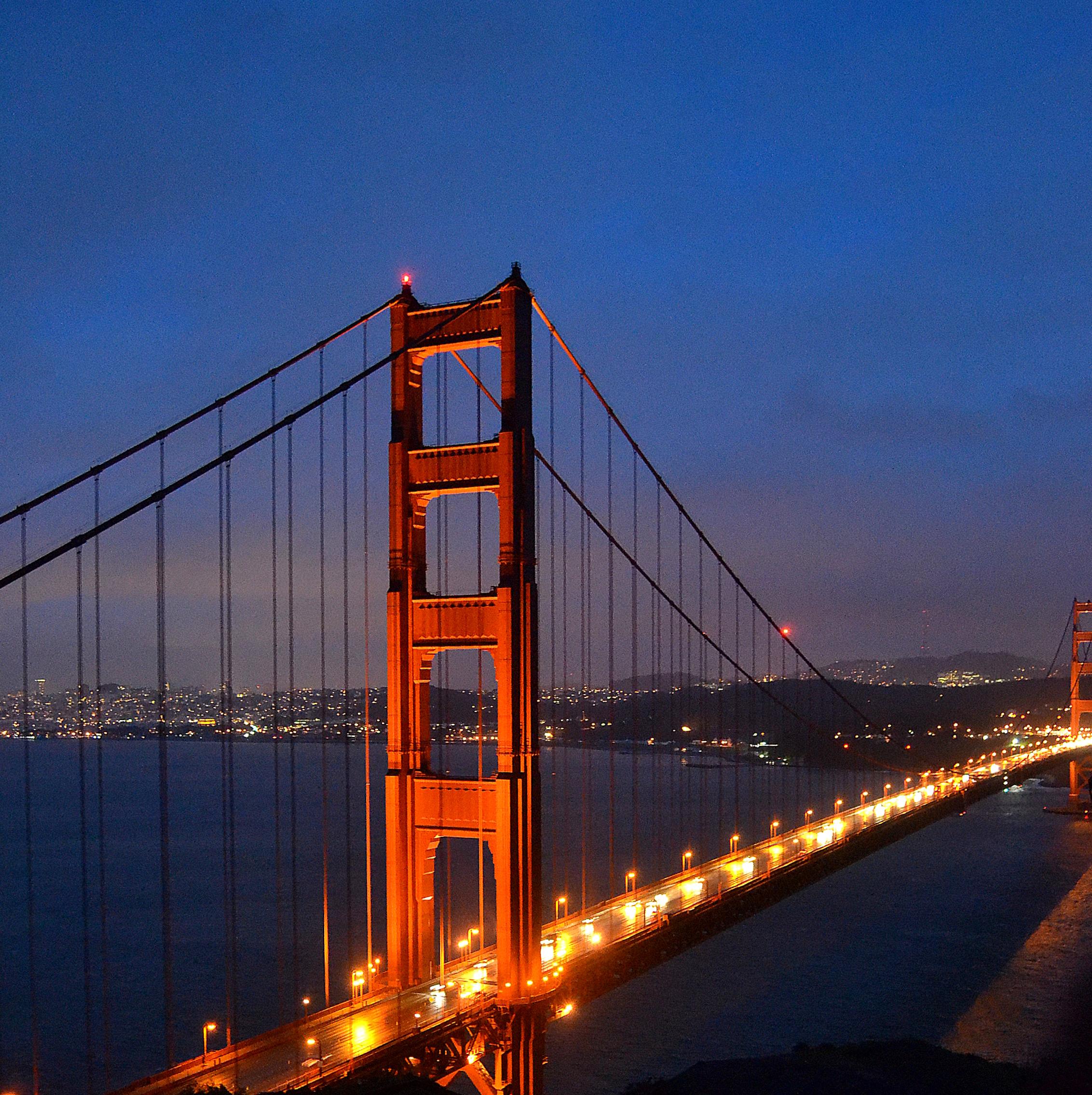 Good Wallpaper Night Golden Gate Bridge - Golden_Gate_Bridge_at_Night_%28pfnatic%29  You Should Have-509557.JPG