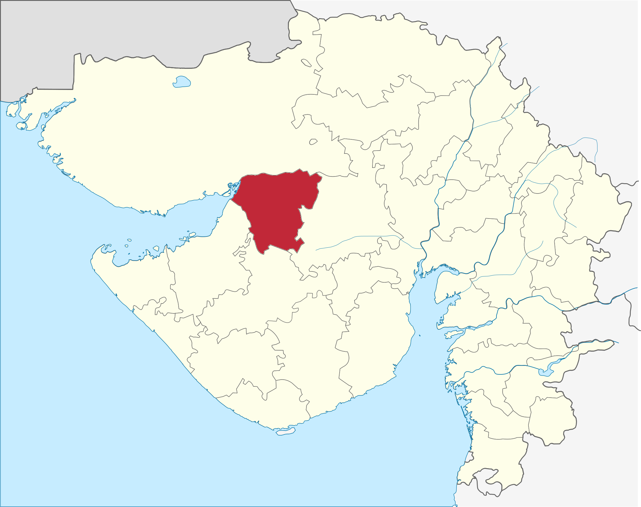 FileGujarat Morbi District Locator Mappng Wikimedia Commons - Morvi map