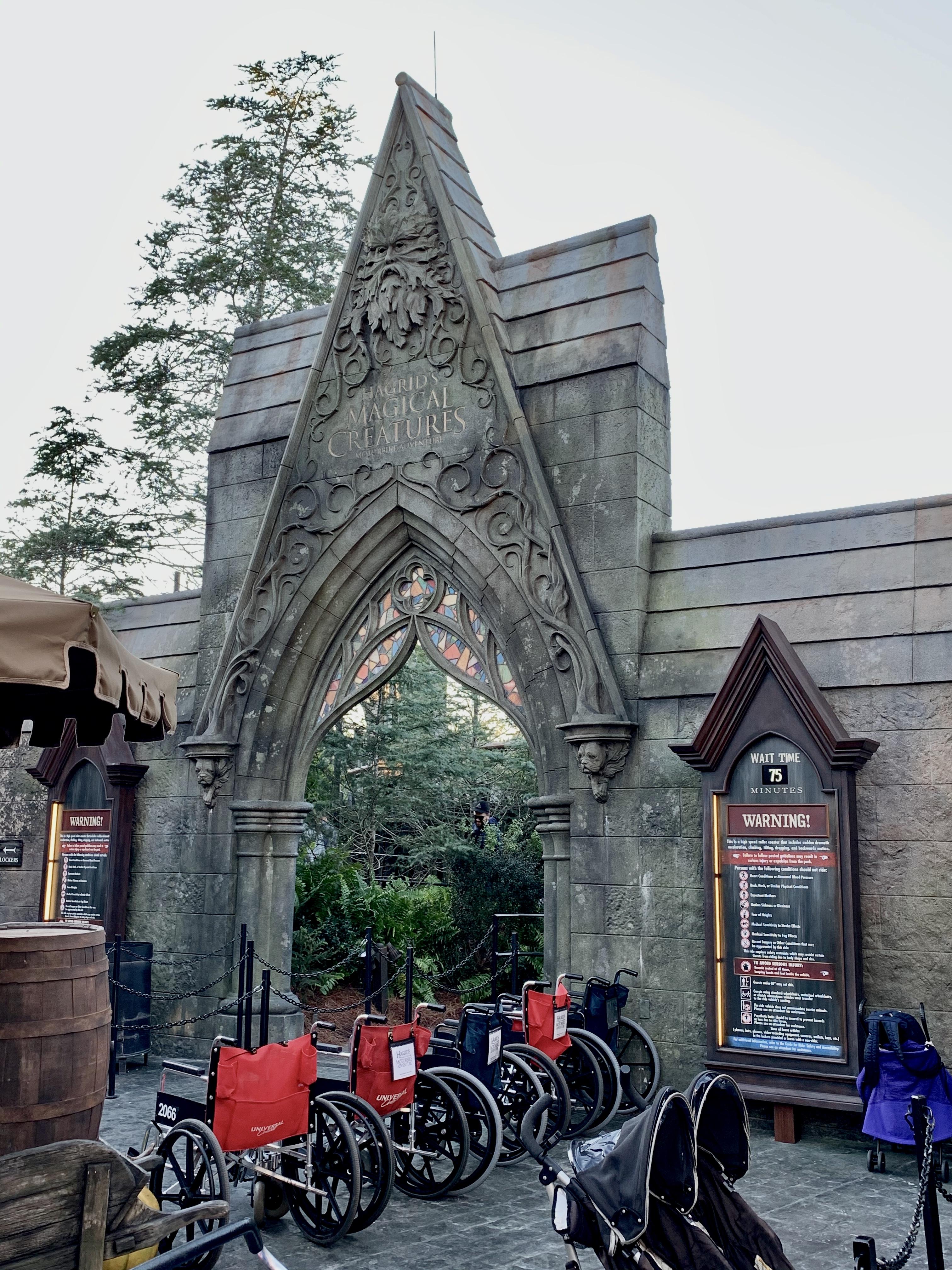 Hagrid S Magical Creatures Motorbike Adventure Wikipedia