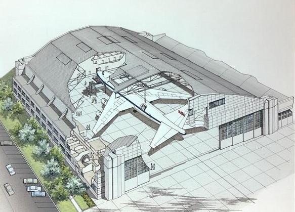 modelo ideal de un taller aeronáutico