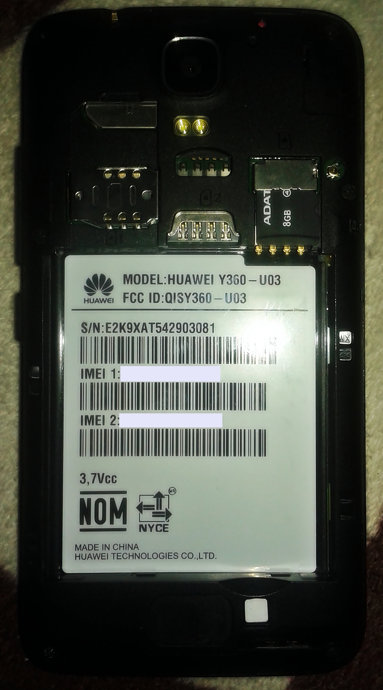 File:Huawei Y360 Rear View without battery jpg - Wikimedia Commons