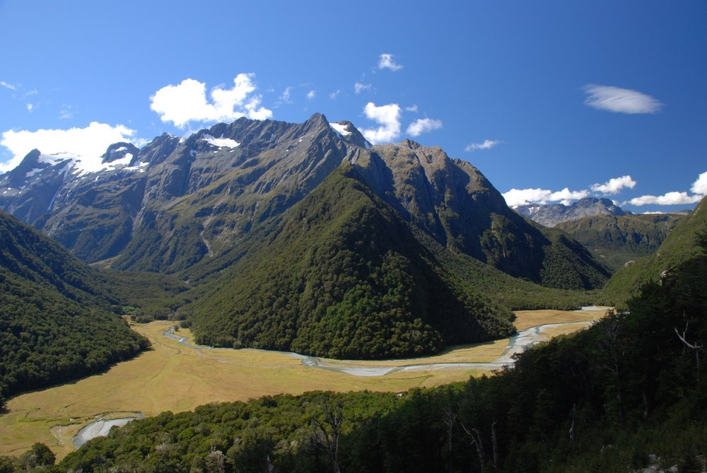 Humboldt Mountains, New Zealand