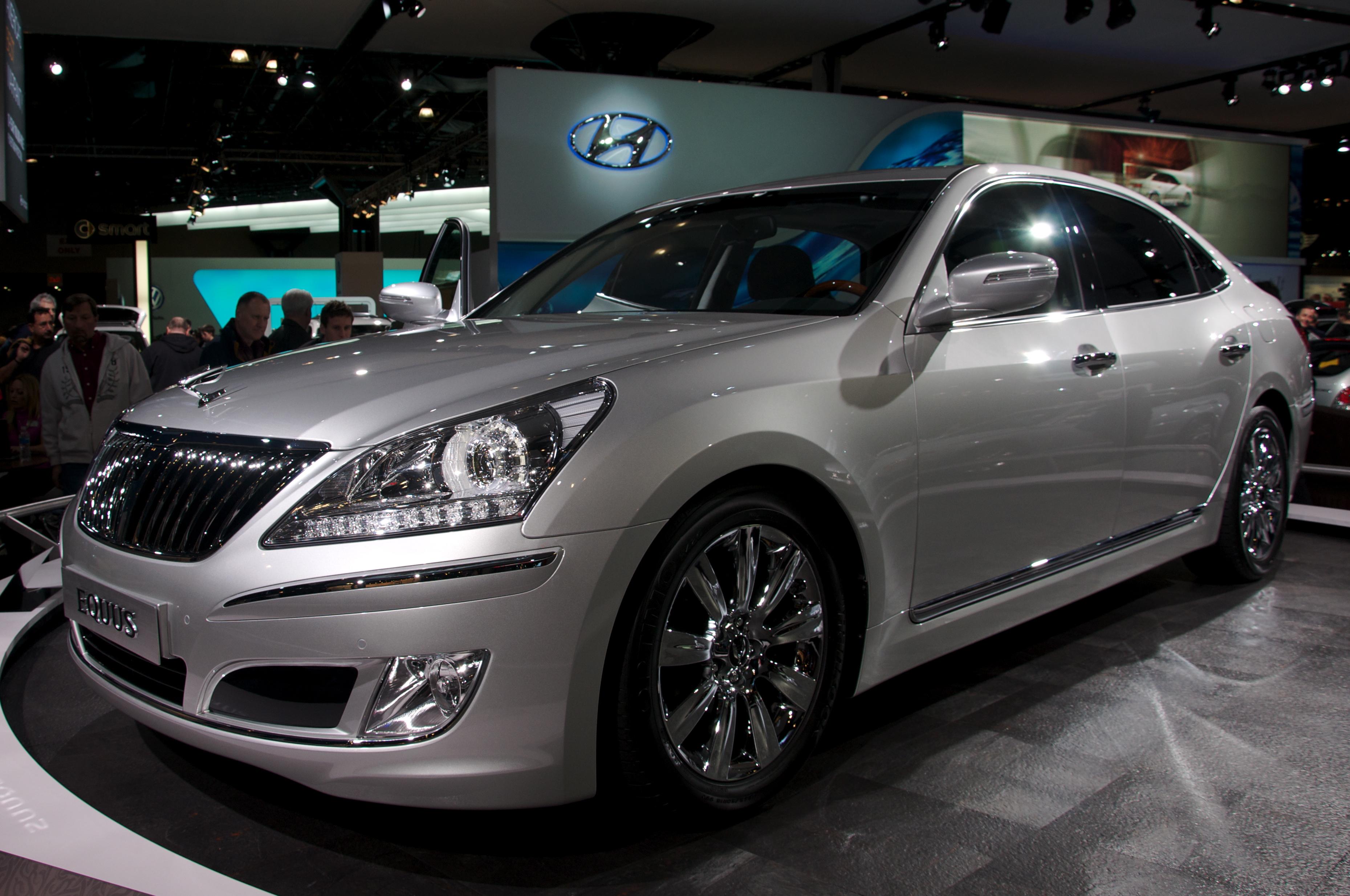 Hyundai Equus Bass Equus Bass 770 Ein Wahres Muscle Car