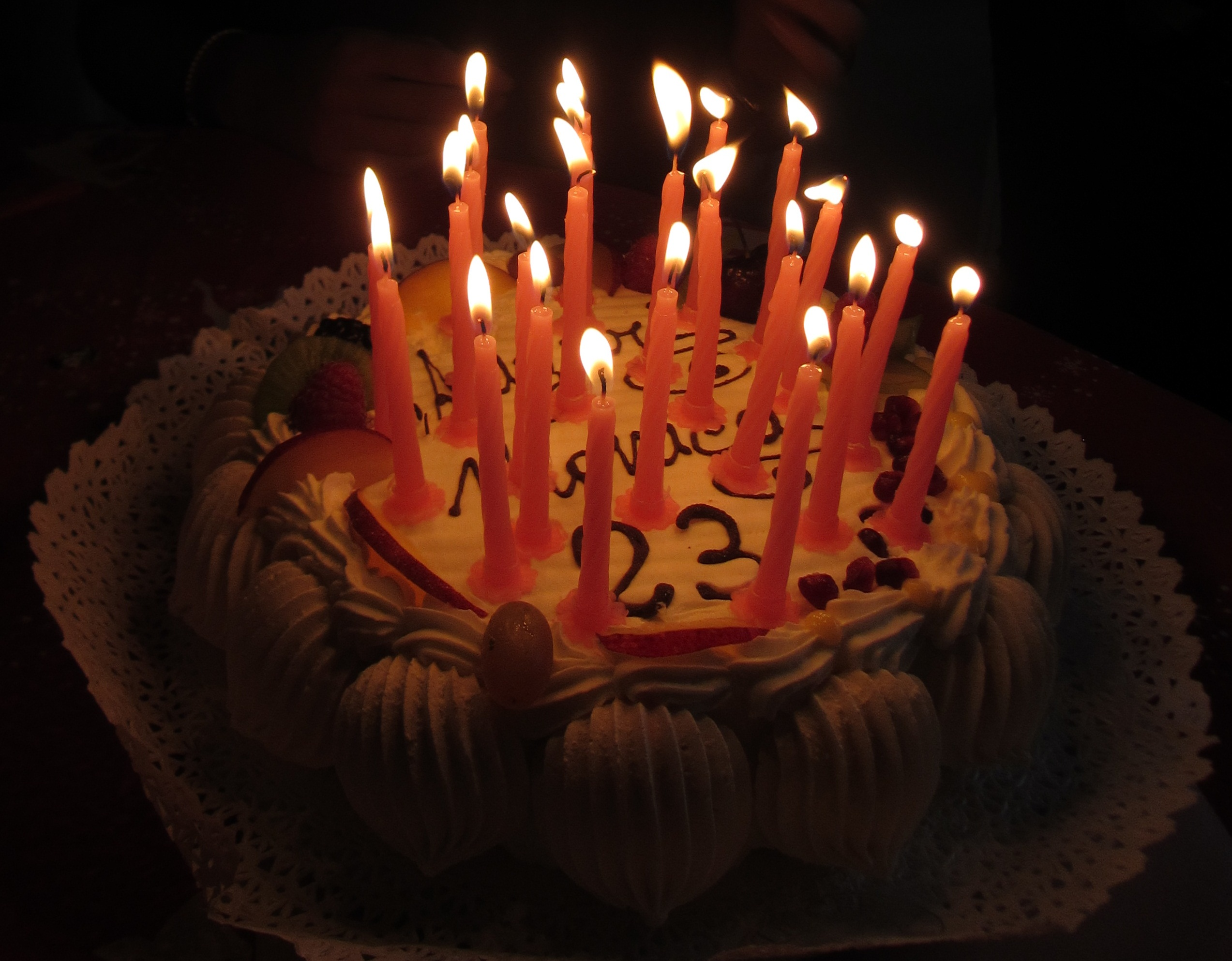 Fileitaly Birthday Cake With Candles 4g Wikimedia Commons