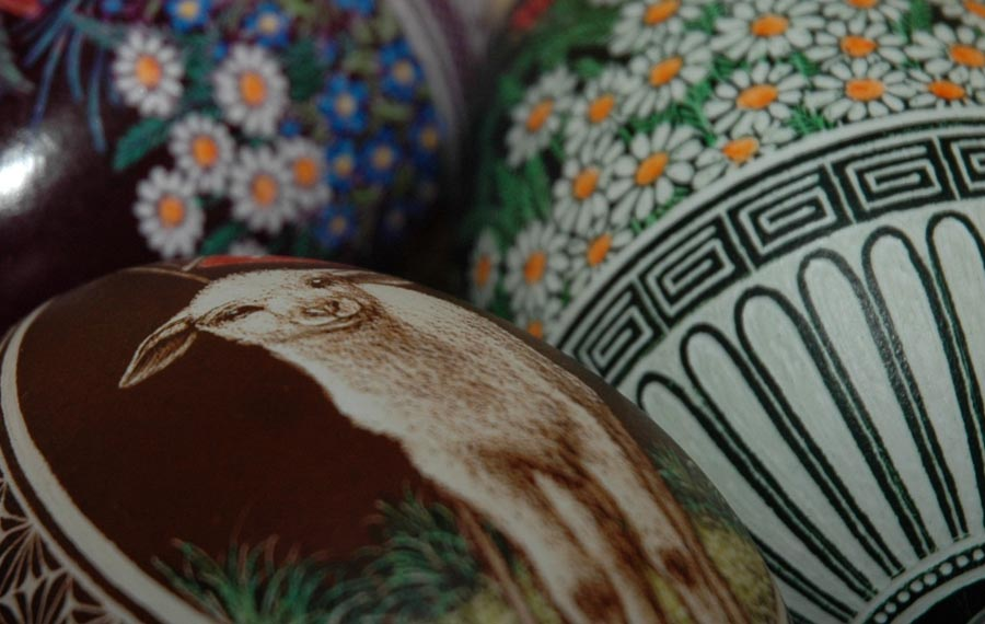 Polish Easter eggs, see also Pisanka (Polish)