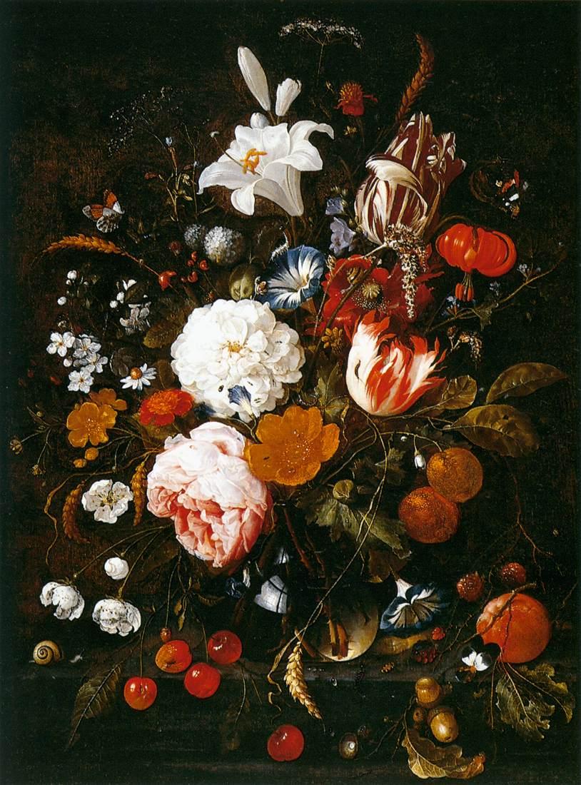File Jan Davidsz De Heem Still Life With Flowers In A