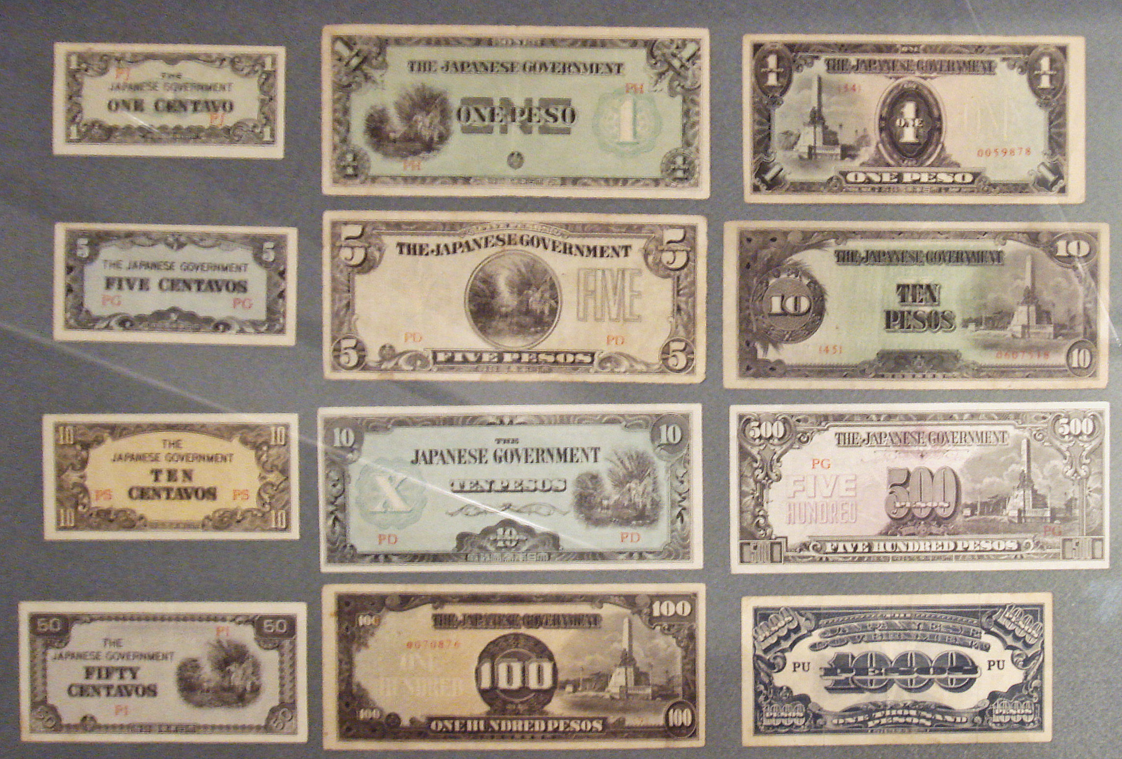 :japanese government asian banknotes during the second world war
