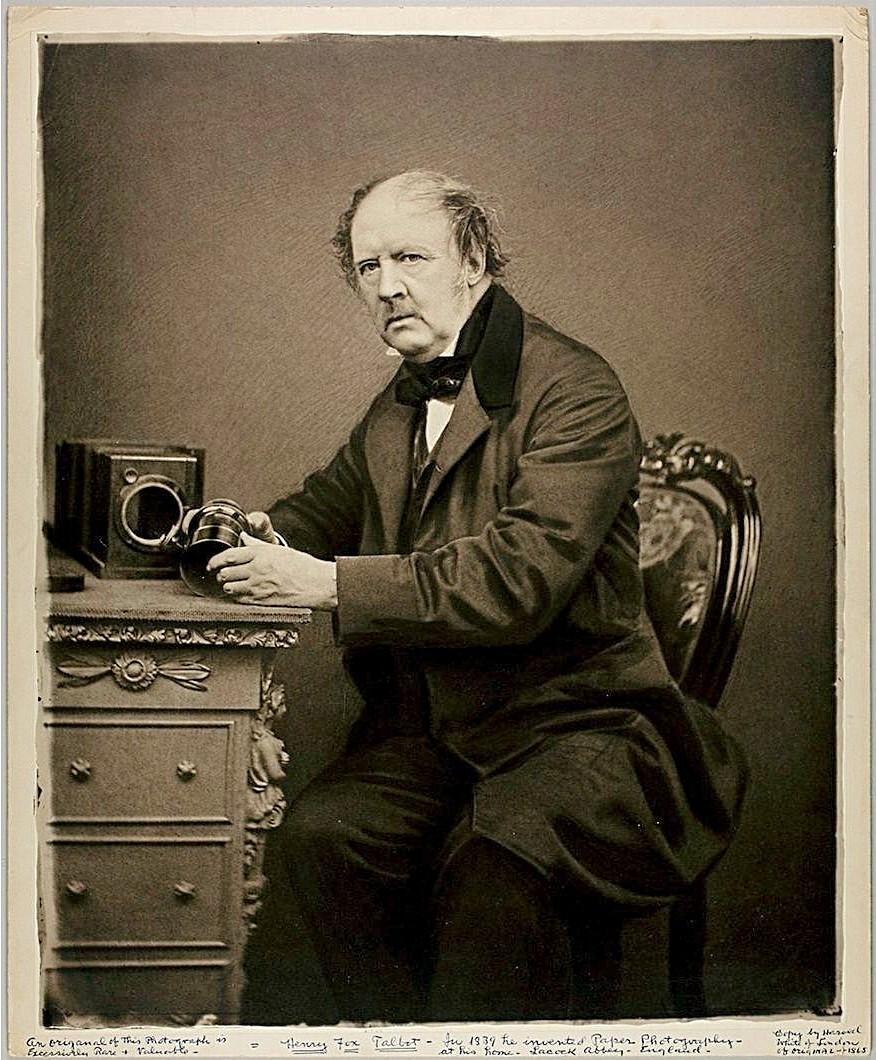 John Moffat - William Henry Fox Talbot, 1864.jpg