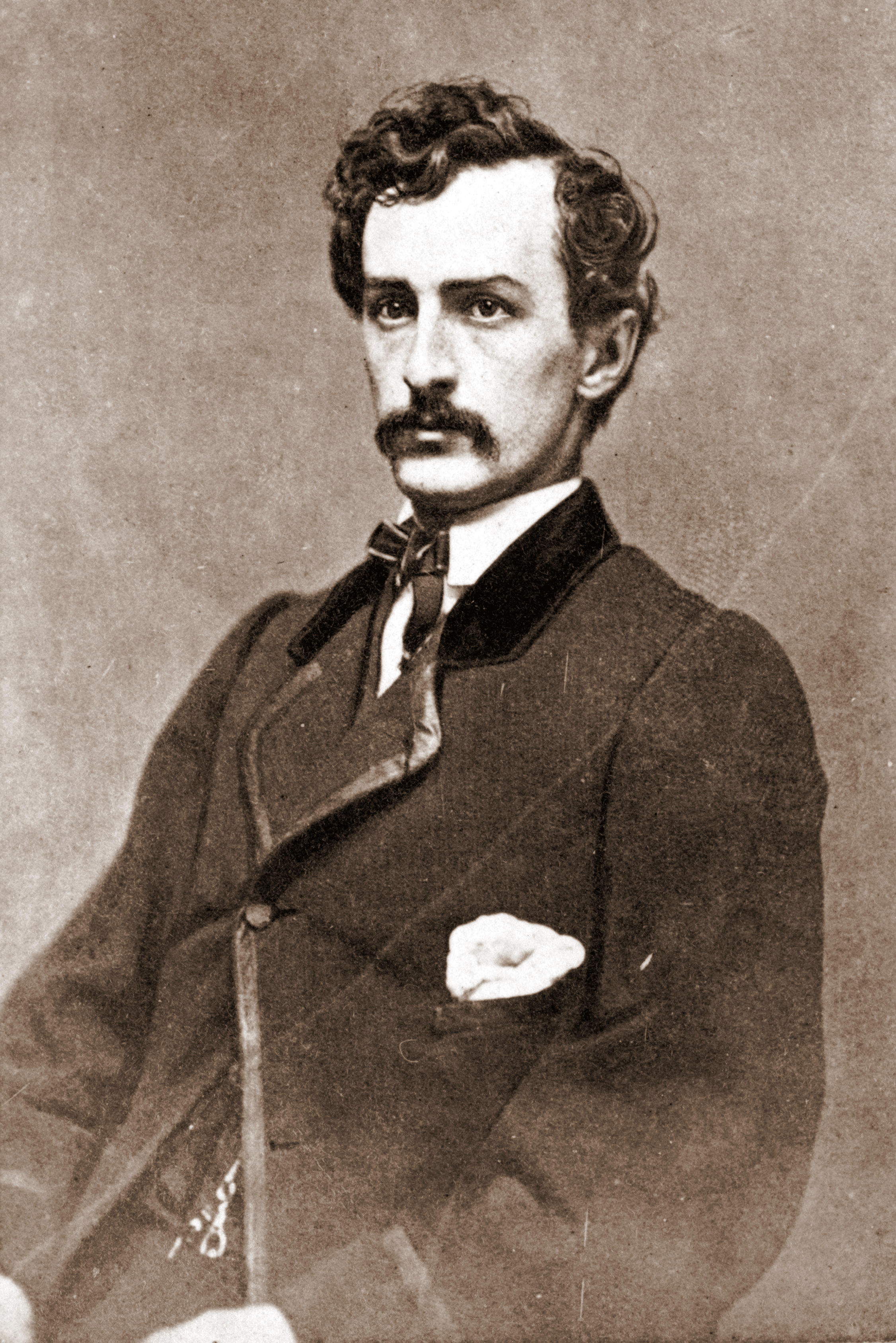 File John Wilkes Booth Assassin Cdv 1 Jpg Wikimedia Commons