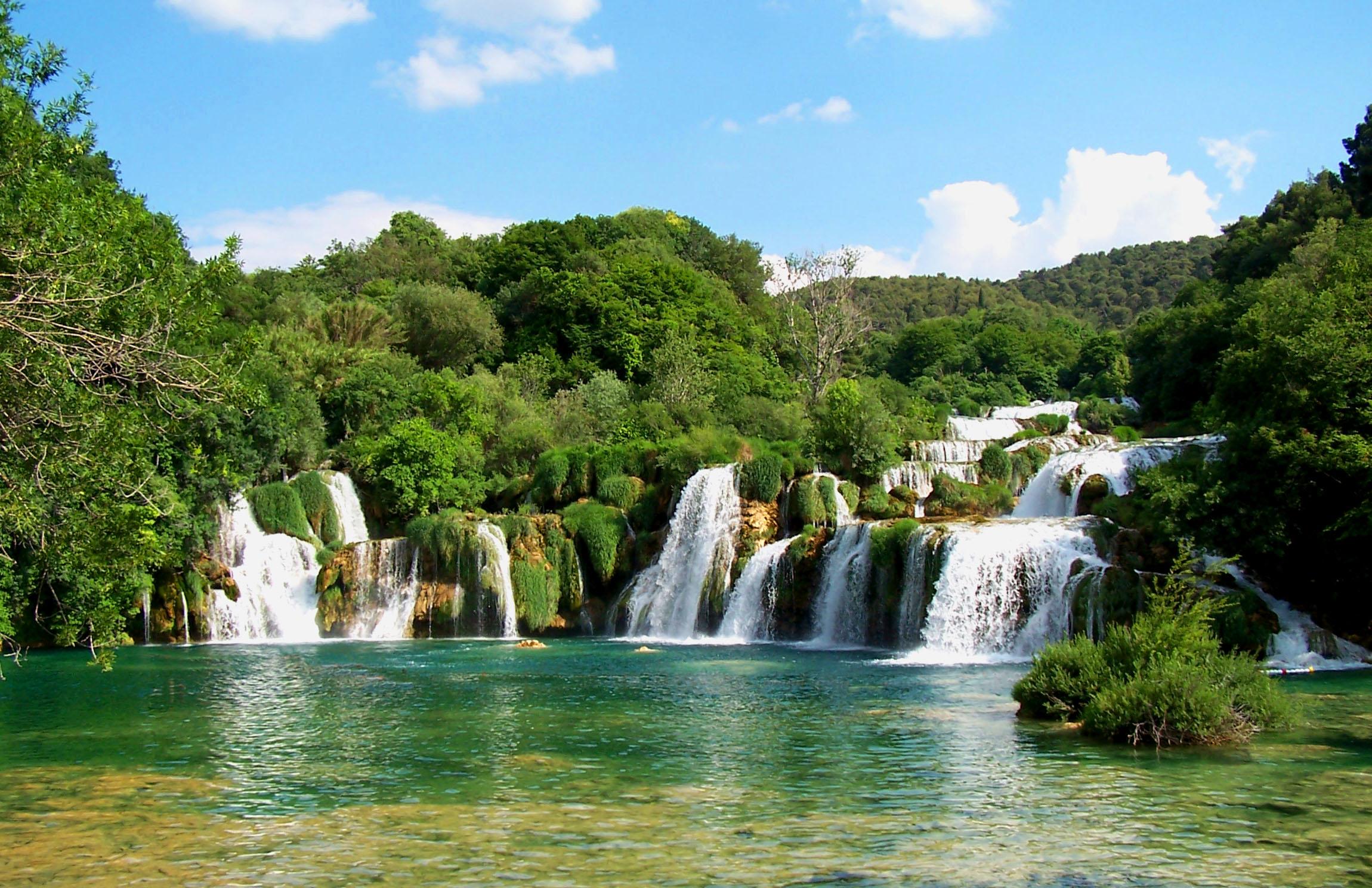 Krk waterfalls waterfalls 202300x1488