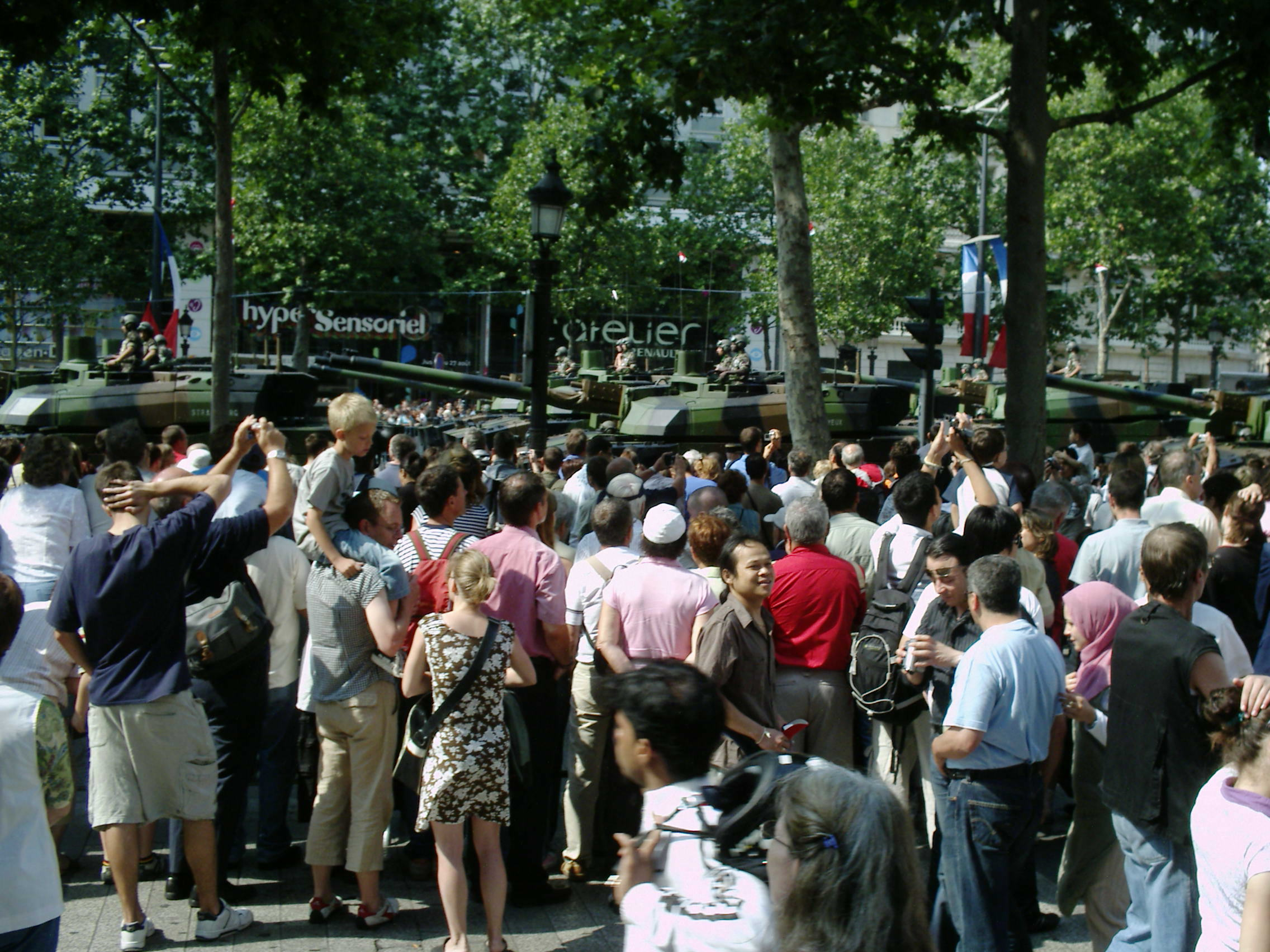 Rencontre militaire 14 juillet