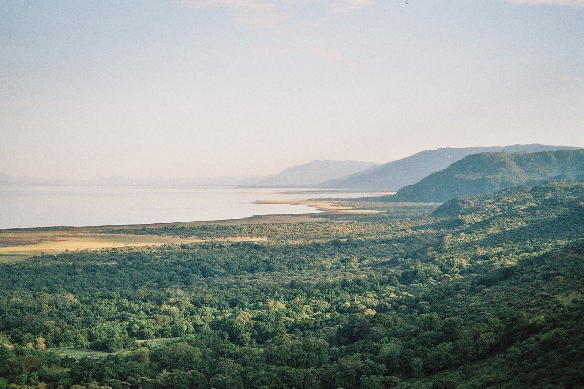 Lake Manyara at the Great Rift Valley, great rift valley, Lake Manyara