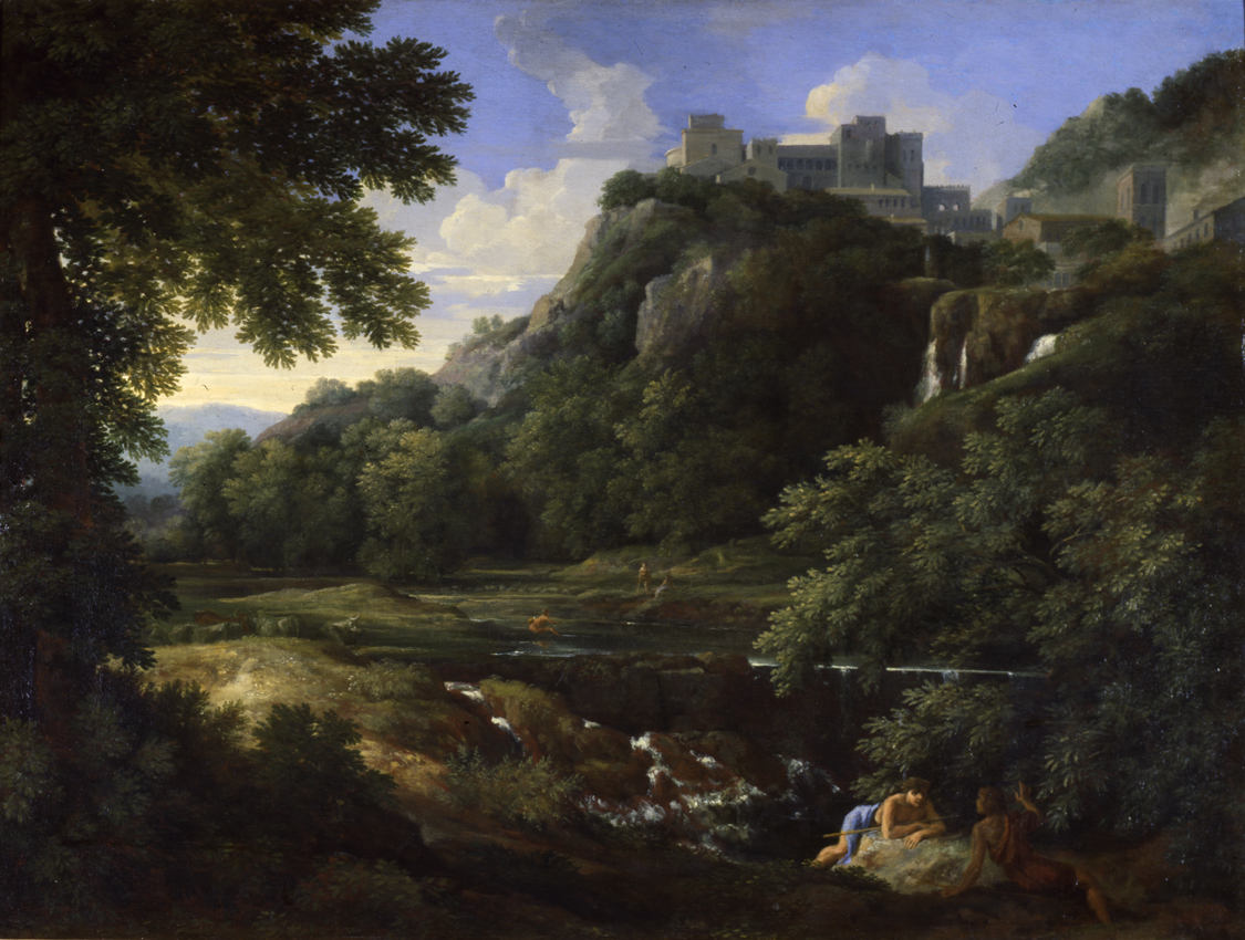 File Landscape With Ruins By Gaspard Dughet Columbus