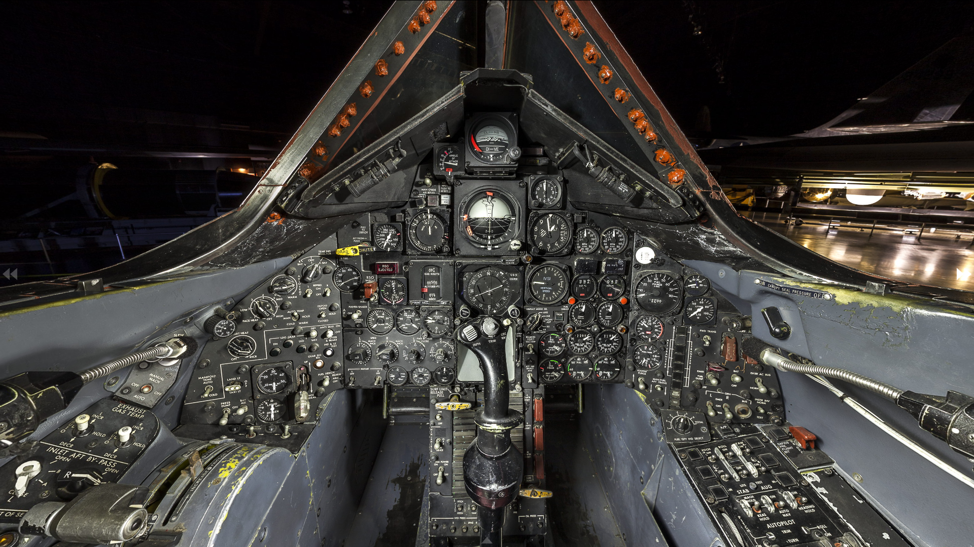 National Air Force Museum >> File:Lockheed SR-71A Blackbird, National Museum of the United States Air Force, Wright-Patterson ...