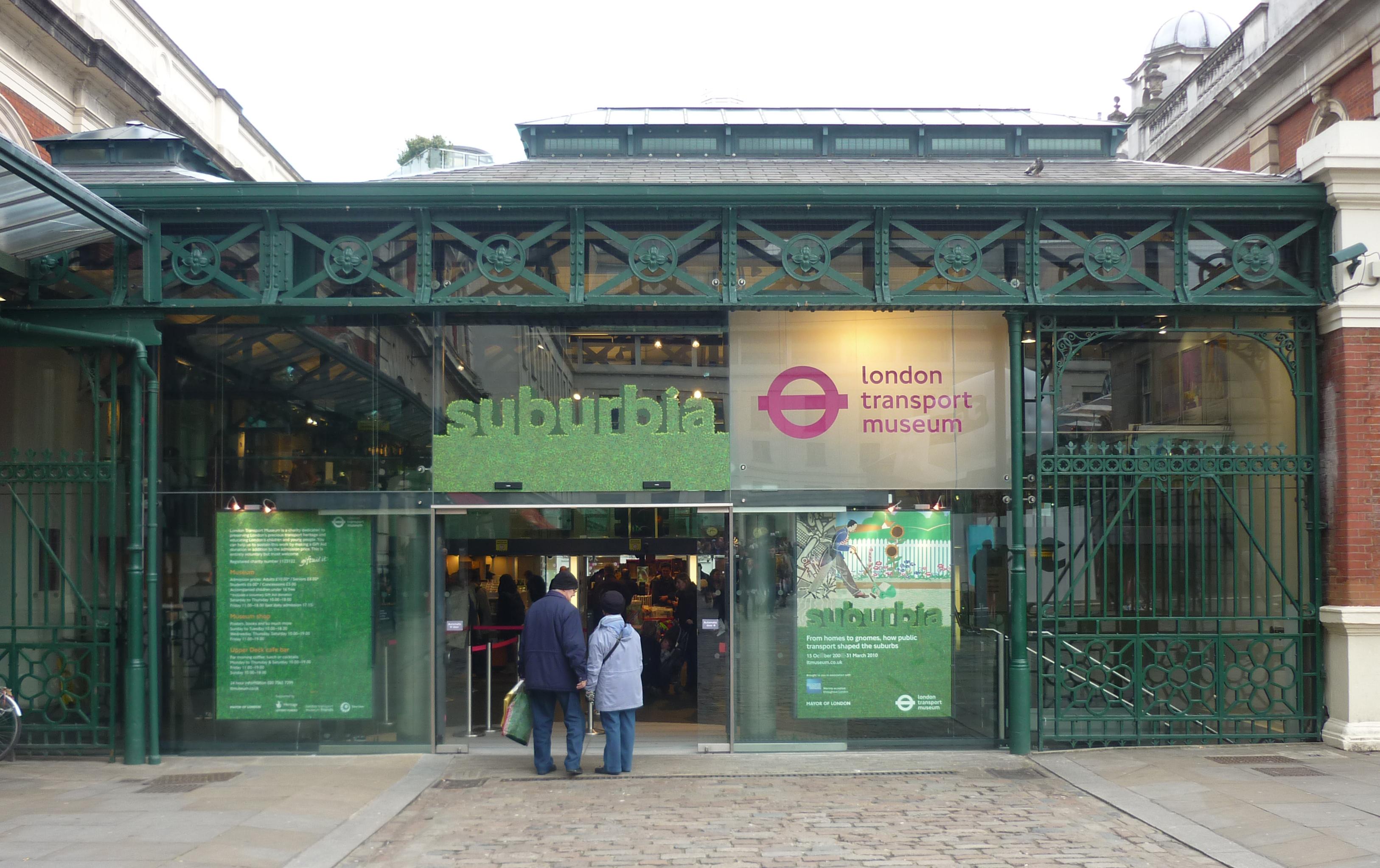 File:London Transport Museum, Covent Garden, London WC1 ...