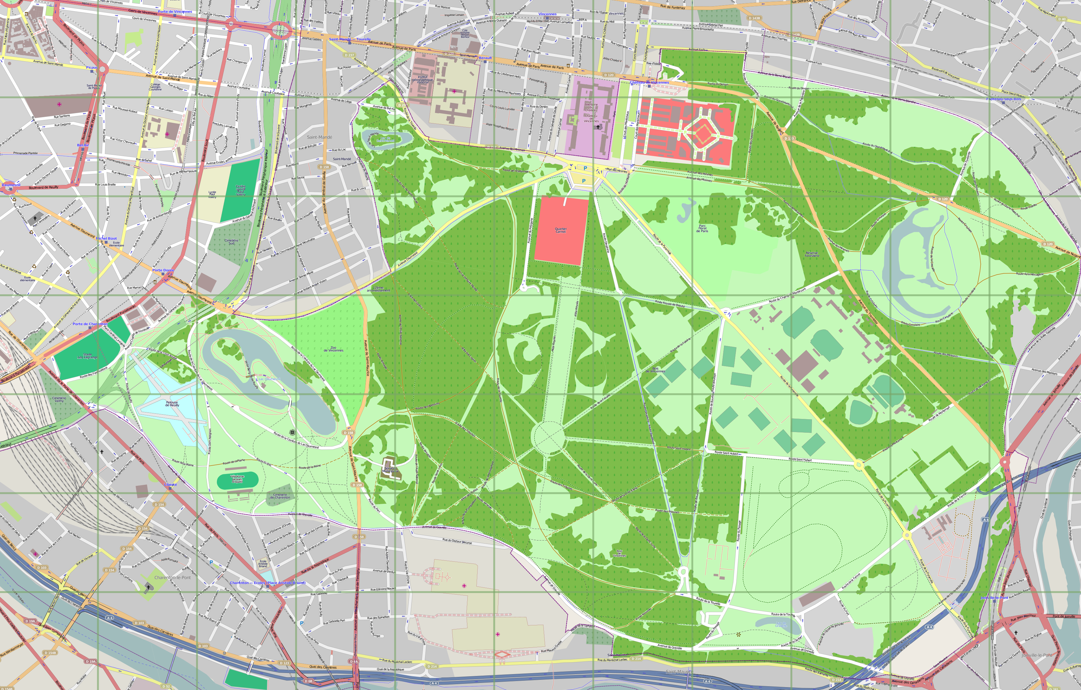 File Map of Bois de Vincennes png Wikimedia Commons # Location Vélo Bois De Vincennes