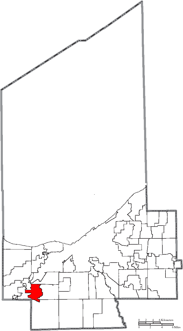 File Map Of Cuyahoga County Ohio Highlighting Berea City Png