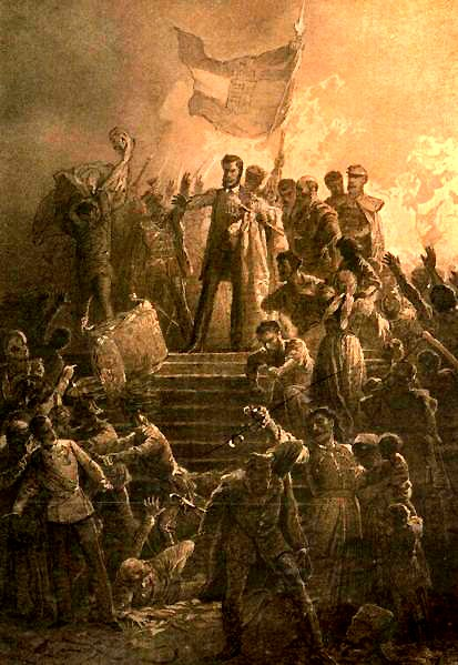 the revolution of 1848 in italy The european revolutions of 1848, known in some countries as the spring of nations or the year of revolution, were a series of political upheavals throughout the.