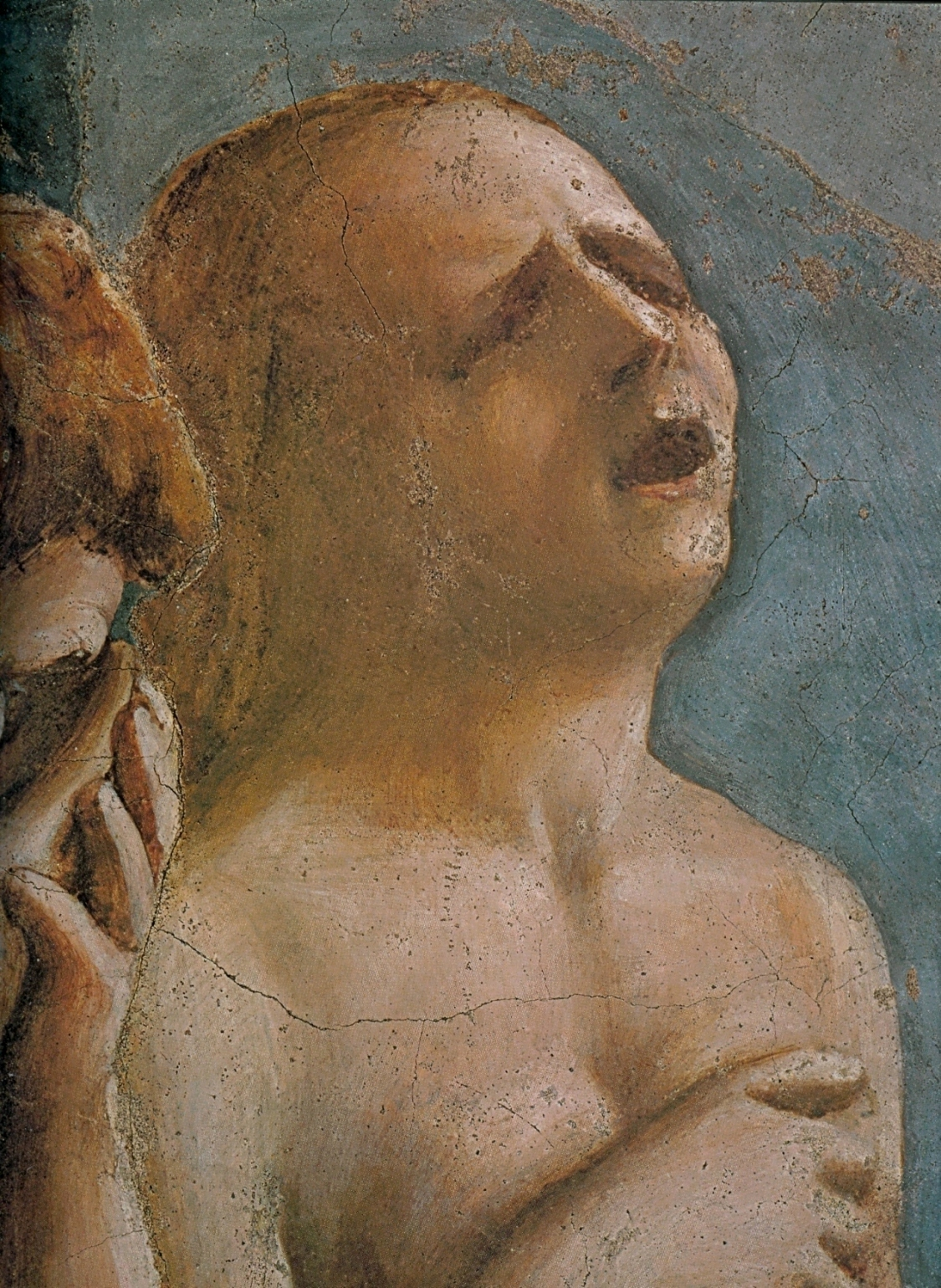 File Masaccio Head Of Eve Expulsion From The Garden Of Eden Brancacci Wikimedia