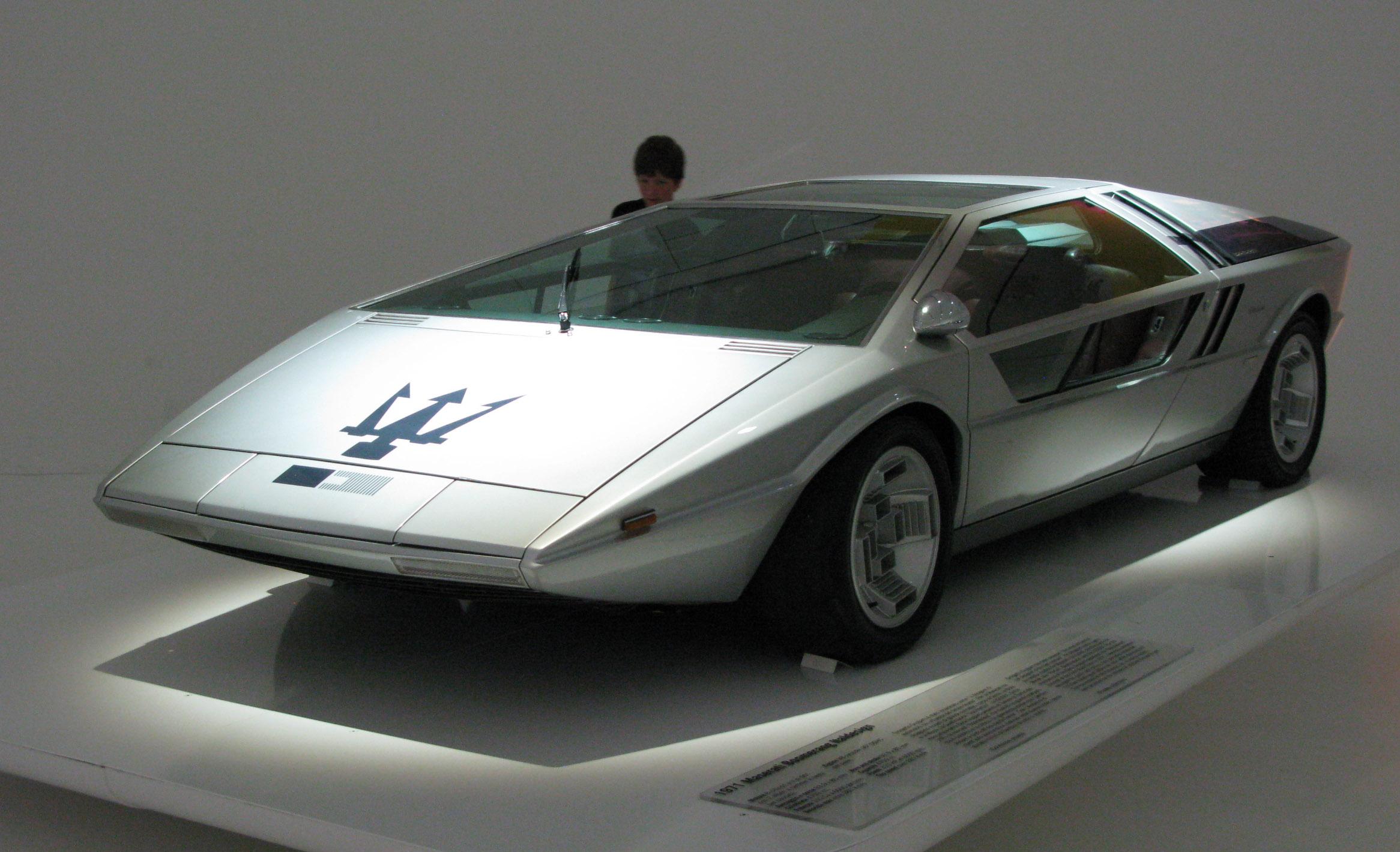 Maserati Concept Cars: Maserati Boomerang