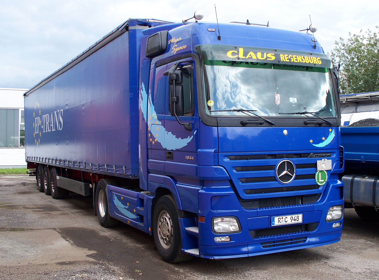 File:Mercedes-Benz Actros truck.jpg