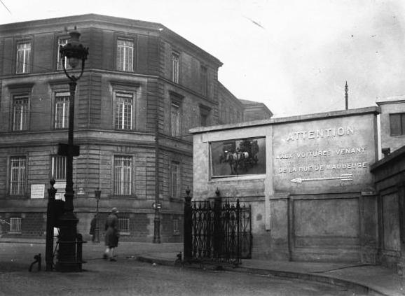 File miroir de circulation rue de maubeuge paris 1929 for Miroir paris france