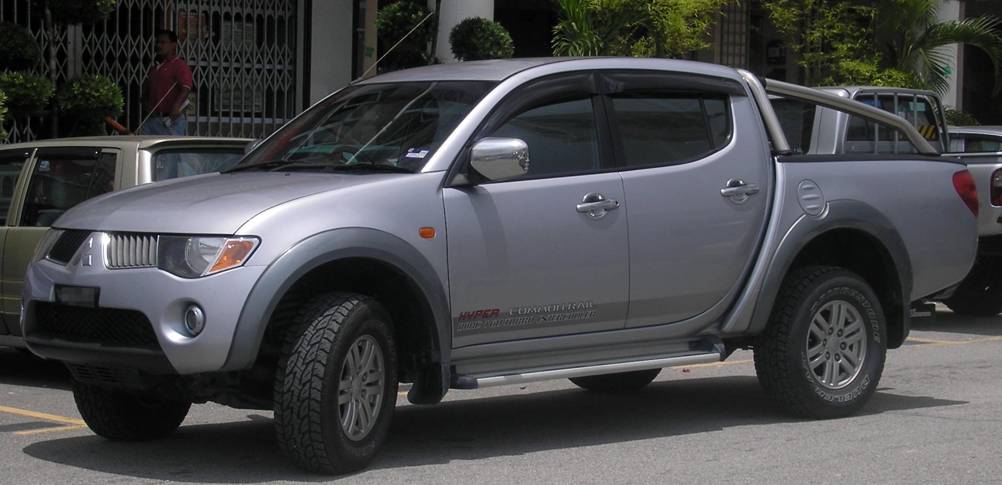 File Mitsubishi Triton First Generation Front Serdang