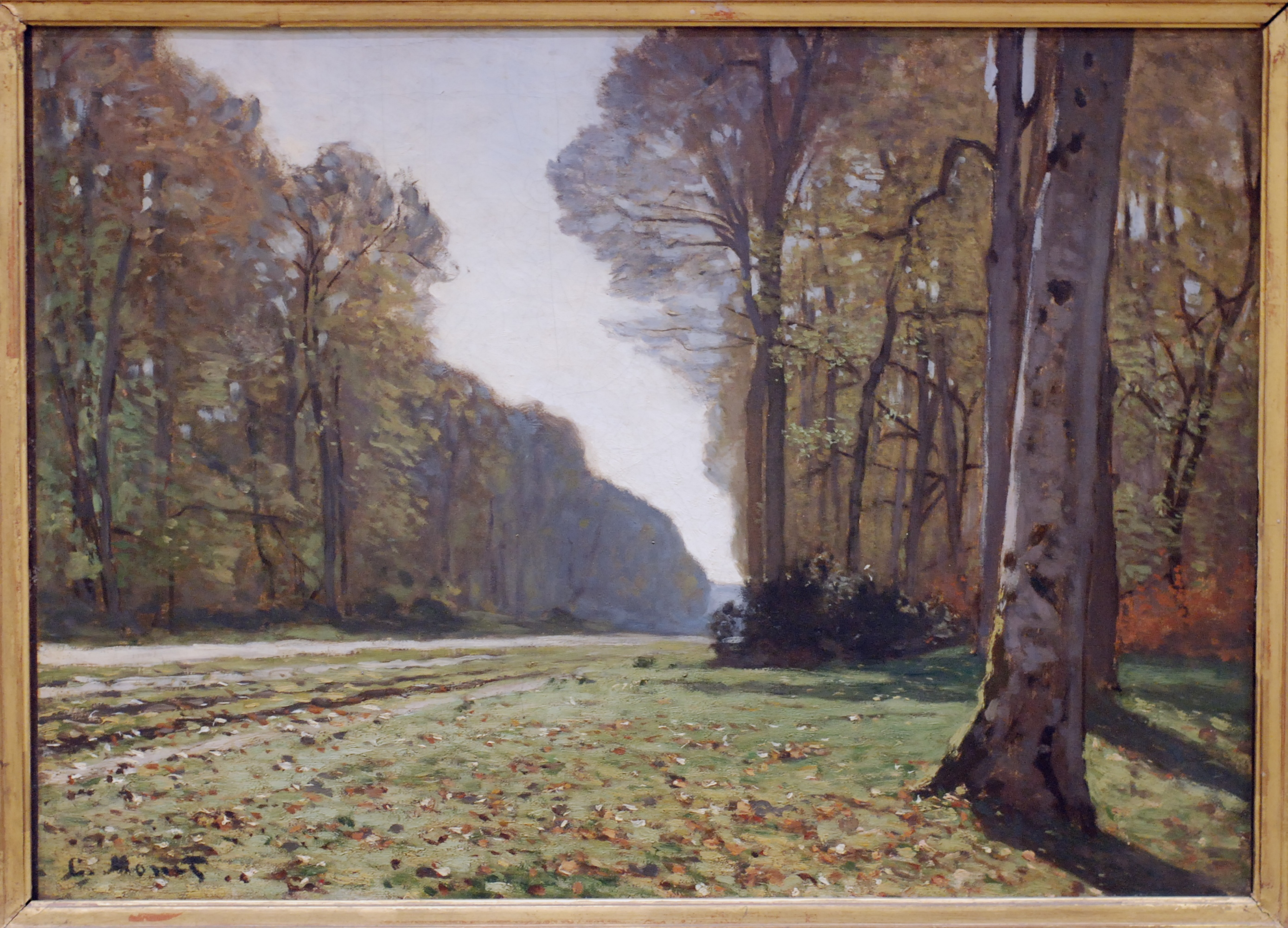 Claude Monet - Le Pave de Chailly - Musee dOrsay