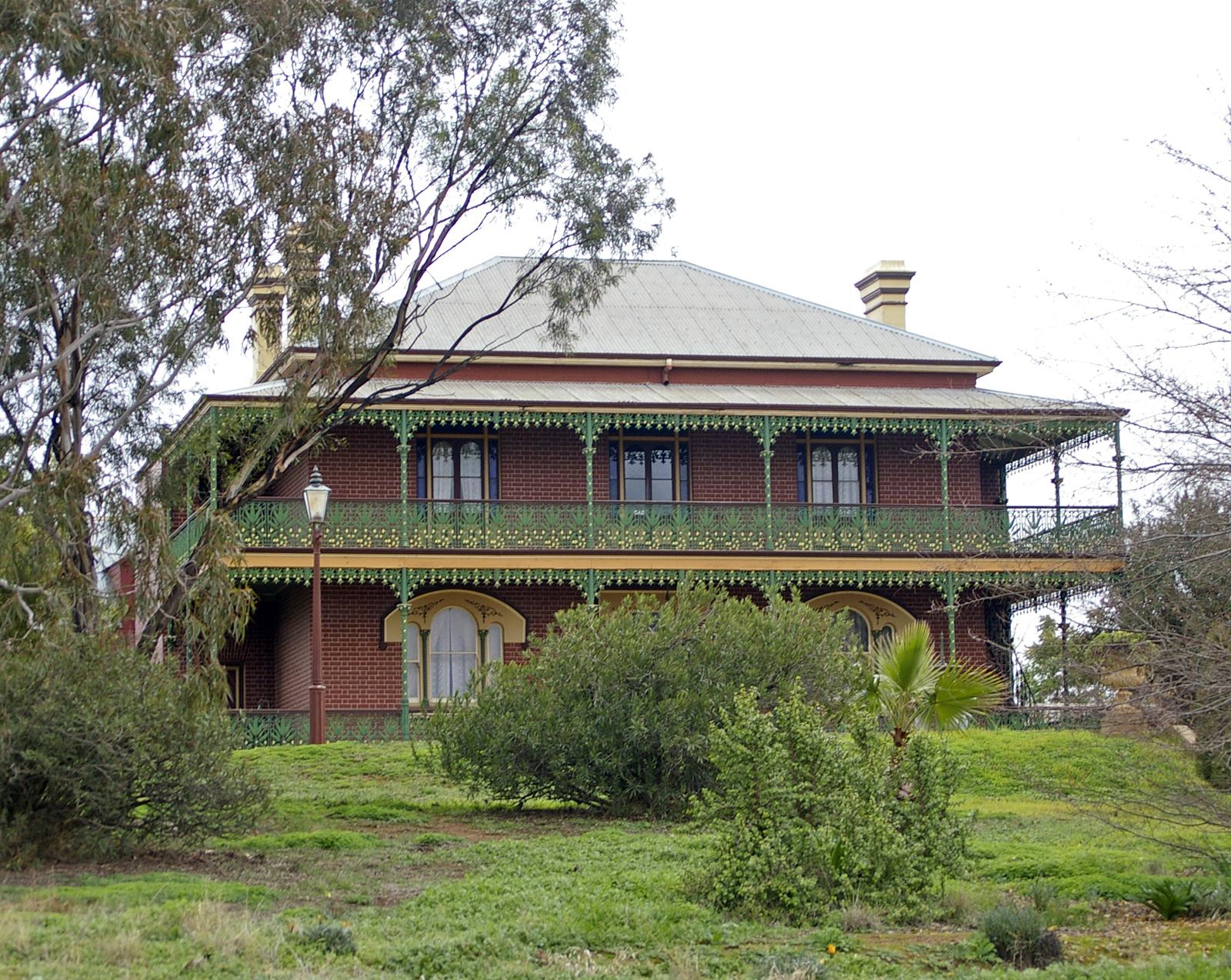 Monte Cristo Homestead; haunted places in Australia