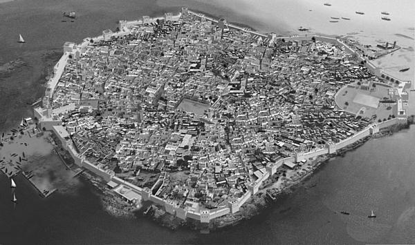Punská sicilská pevnost Motya